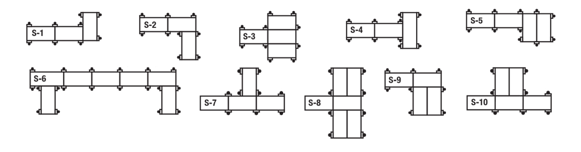 Sectional Dock Layouts