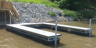 Galvanized Floating Docks