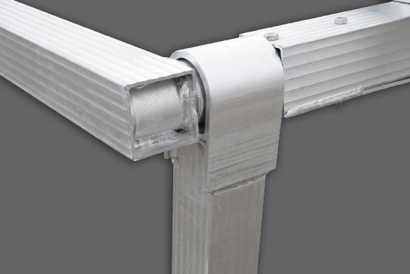 Heavy-Duty All-Aluminum Construction