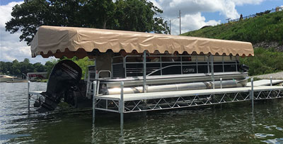 Boat Dock Canopies & Accessories | JLS Marine | Boat Dock Accessories and Boat Lift ...