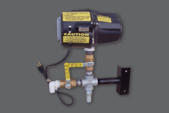 Optional Post-Mount Pump Motor